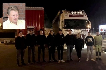 21 mars 2020 - Uppmärksamma ungdomar såg till att avbryta dieselstöld från lastbil, och belönades med pizza.