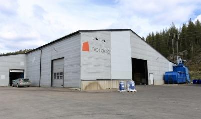 24 april 2020 - Och så var det dags att bygga ut påsfabriken norbag.