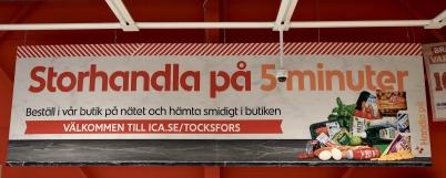11 maj 2020 - ICA införde möjligheten att handla på nätet och att hämta maten coronasäkert i ICA-butiken.