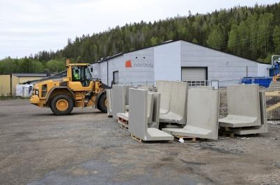 22 maj 2020 - Och arbetet med utbyggnad av norbag fortskred.