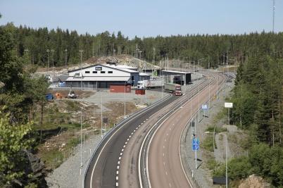 23 juni 2020 - Nya tullstationen vid E18 nära norska gränsen var förverkligad.