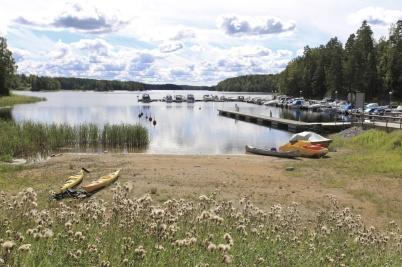 24 augusti 2020 - Sjön Foxen lockade med naturupplevelser, men turisterna kom inte denna coronasommar.