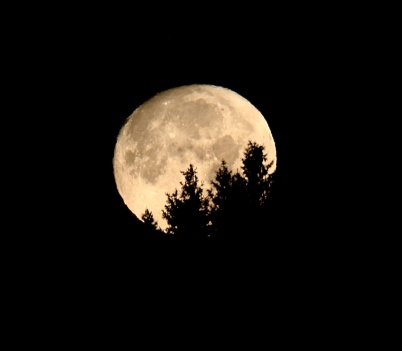 1 september 2020 - En mäktig måne kunde bskådas.