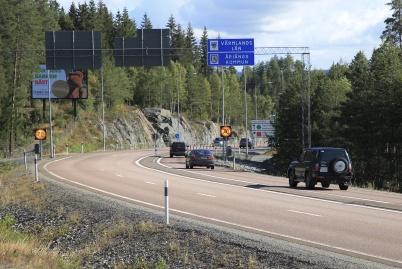 """5 september 2020 - Det var återigen dags att """"öppna"""" norska gränsen och norrmännen kom för att handla i Sverige, men det  var glesare än vanligt."""