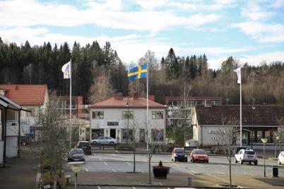 6 november 2020 - Kommunen flaggade på Gustav Adolfsdagen.
