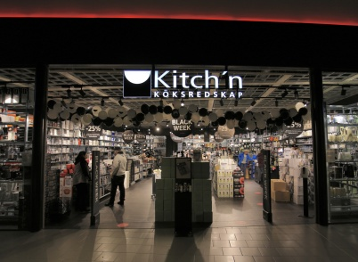 19 november 2020 - I shoppingcentret öppnade nya butiken Kitch´n.