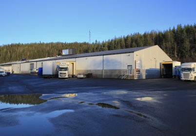 16 december 2020 - Norbag´s nya fabriksdel togs i bruk.