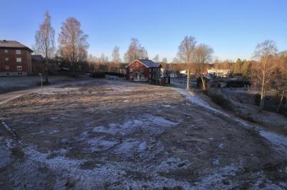 25 december 2020 - Och parhusen på Solängen blev ett minne blott.