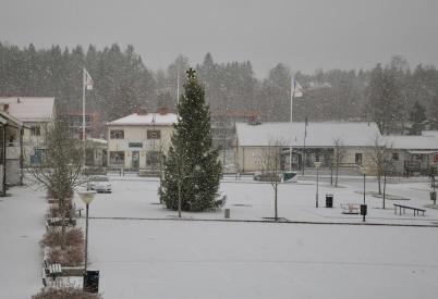 26 december 2020 - Under några timmar trodde vi  att vintern hade kommit . . .