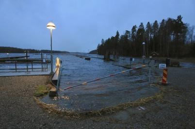 27 december 2020 - Och vattennivån i Foxen fortsatte att stiga.