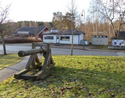 Centrumkiosken vid Kvarnen, bild från 2012.
