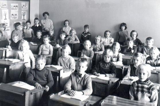Odinskolan våren 1957