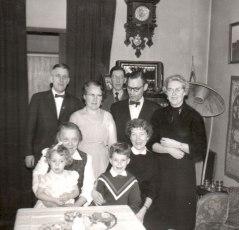 1958 - Hos mormor Elin på Viktoriagatan