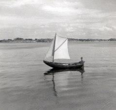 Farfar Viktors gamla eka - Styrsö 1960