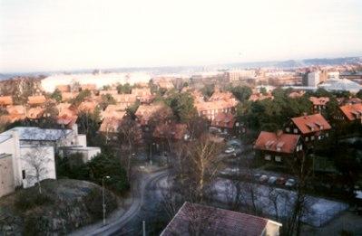 Utsikt mot Landala Egnahem