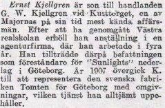 Ernst Kjellgren 50 år?