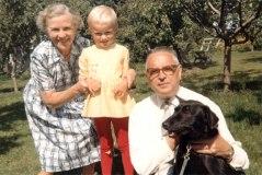 Sven Langdells föräldrar Annie & Bertil