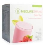 NY NeoLifeShake Berries n' Cream, måltidsersättande proteinshake, bär. Mindre socker
