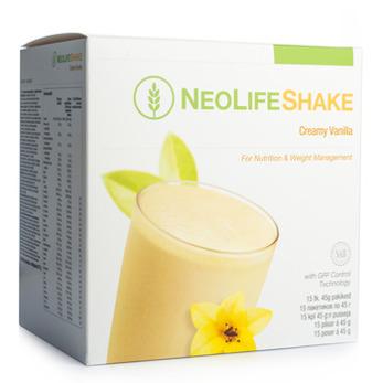 NeoLifeShake Creamy Vanilla, Måltidsersättande proteinshake, vanilj - NeoLifeShake Creamy Vanilla, Måltidsersättande proteinshake, vanilj