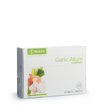Garlic Allium Complex,Vit lökj-lökpreparat - Garlic Allium Complex,Vit lök-lökpreparat