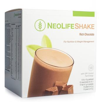 NY NeoLifeShake Rich Chocolate, måltidsersättande proteinshake, choklad. Mindre socker - NY NeoLifeShake Rich Chocolate, måltidsersättande proteinshake, choklad. Mindre socker
