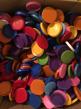 Lock till 33/50 cl burkar - 10 st blandade färger