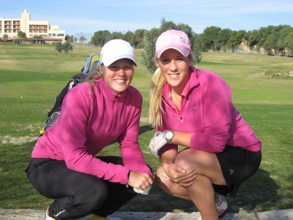 Syrran och jag i Valle del este 2010