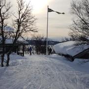 Ingen snöbrist vid Andersborg