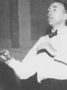 Hans Vilborg var 1:e dirigent i 3,5 år under tiden 1957-01-19 - 1960-07-04