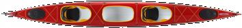 Tahe Marine Tandem Maxi. största dubbelkajaken