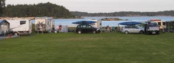 camping, paddla kajak