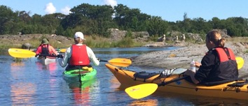 Kayak tours in Sankt Anna, Sweden