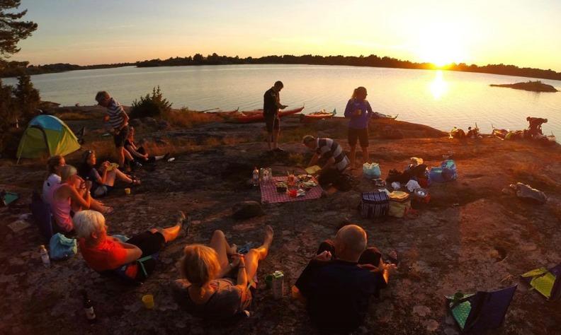 Kayak tour Sweden
