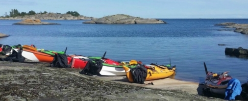 Self guided kayak sweden