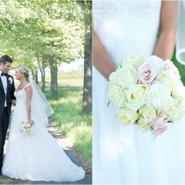 Bröllopsfotograf Borgeby kyrka