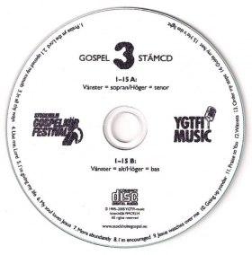 Gospel 3 stämcd - Gospel 3 stämcd