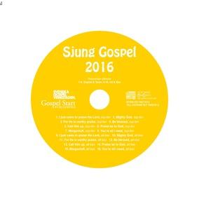 Sjung Gospel 2016 Stämcd