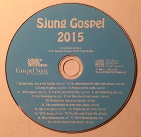 Sjung Gospel 2015 stämcd