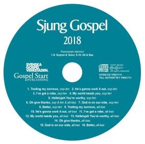 Sjung Gospel 2018 stämcd