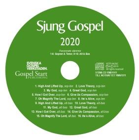 Sjung Gospel 2020 stämcd -