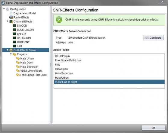 CNR-Effects Configuration