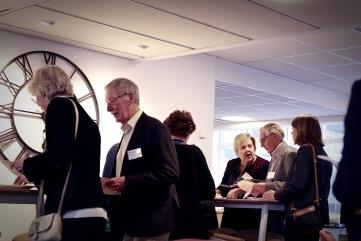 Uppladdning inför årsmötet. Foto Lars Höglund.