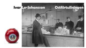 Ivar Lo Johanssons erfarenheter av förtullning på 1920-talet av en edamerost finns beskriven i hans självbiografiska roman Stockholmaren.