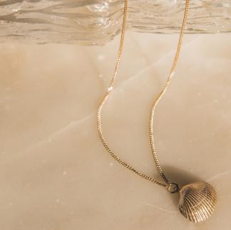 Skrea shell necklace Large - Skrea Shell necklace Large (Kedja ingår ej)