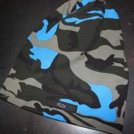 Kamouflage blå