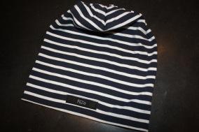 Marinblå med vit rand - Marinblå m vit rand stl 25