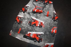 Brandbil grå - Brandbil stl 18