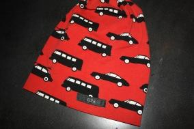 Röd bubblig bil - Röd bubblig bil stl 18