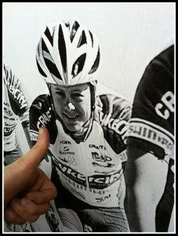 Mr Perswall. Motiv; Jonas Bjelkmark cykelproffs