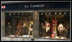 La Chemise Tapet Ralph Lauren Skyltfönster